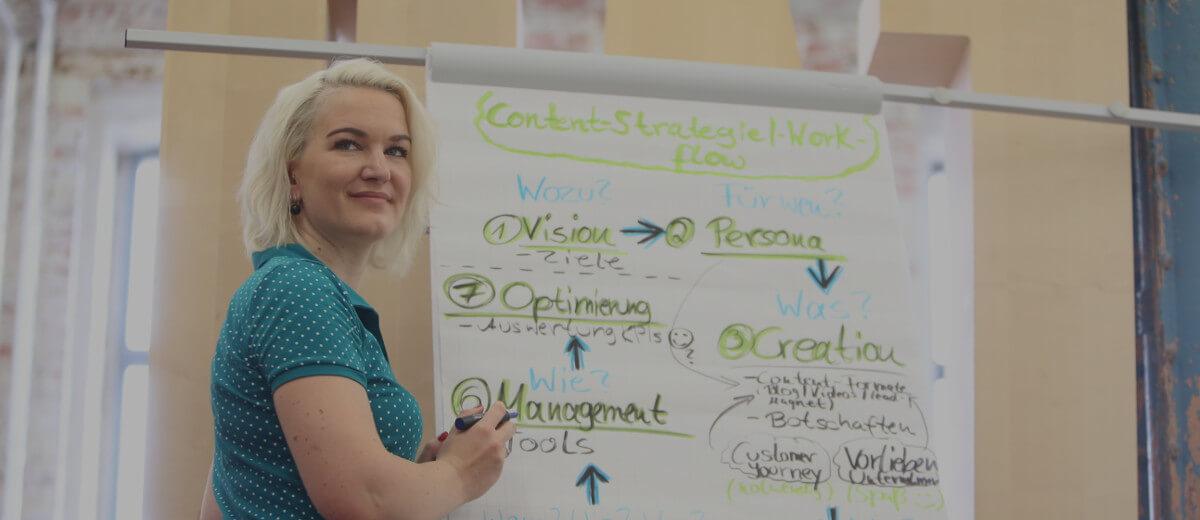 Lerne, wie du mit den richtigen Inhalten online gezielt bekannter wirst und mehr Kunden gewinnst.