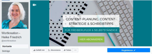 Wortkreation bei Facebook