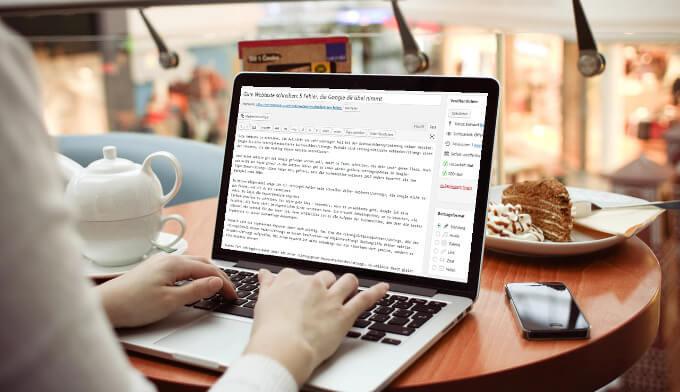 Gute Webtexte schreiben - 5 SEO-Fehler