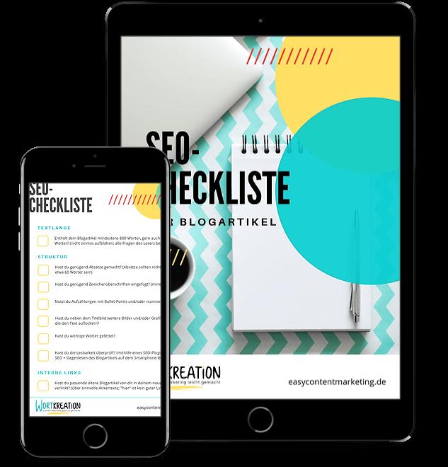 Kostenlose SEO-Checkliste für Blogartikel
