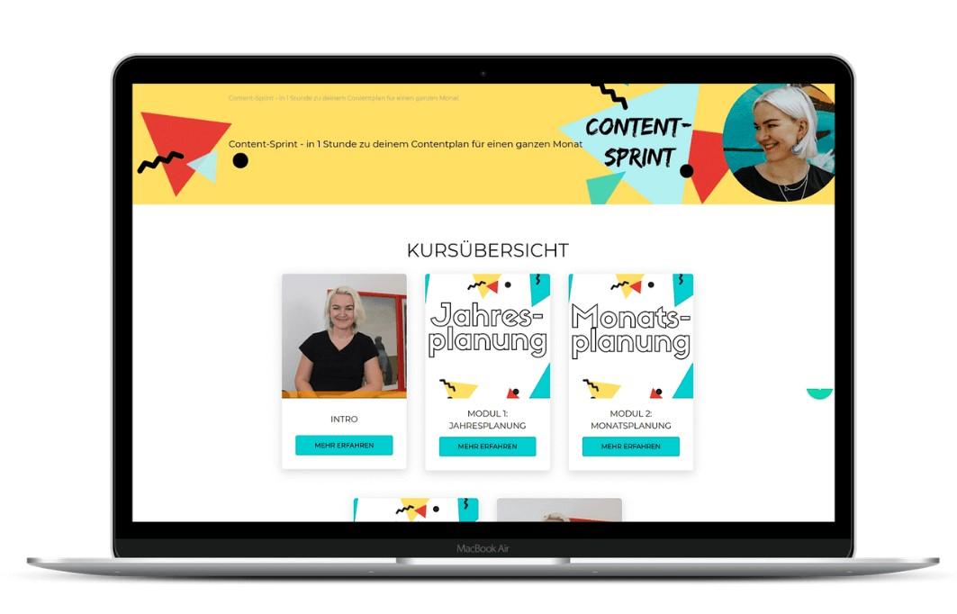 Content-Sprint - Onlinekurs Content planen