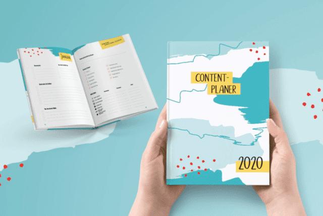 Content-Planer - Buch zum Anfassen