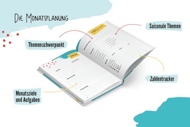 Content-Planer - Monatsplanung