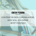 Content-Planung in der Corona-Krise
