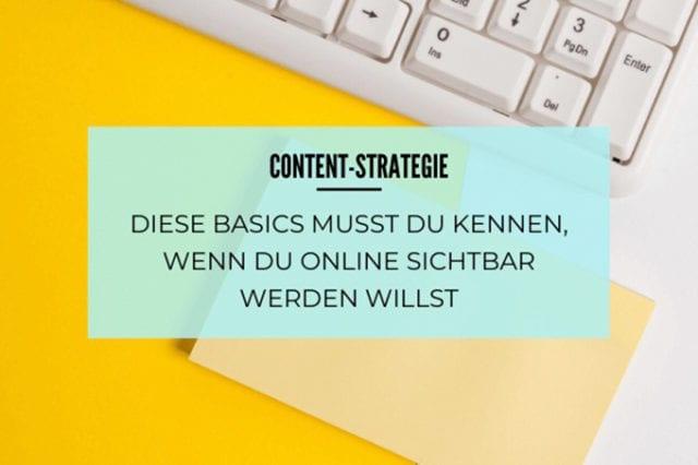 Was ist eine Content-Strategie?