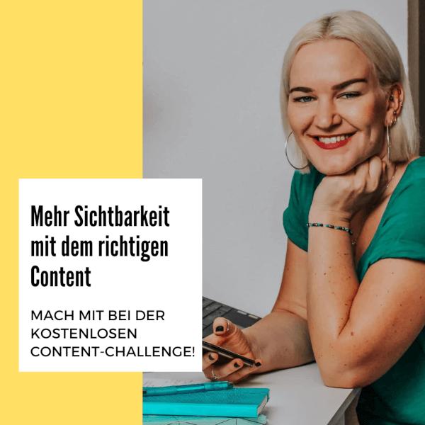 Mehr Sichtbarkeit mit dem richtigen Content: Mach mit bei der kostenlosen Content-Challenge