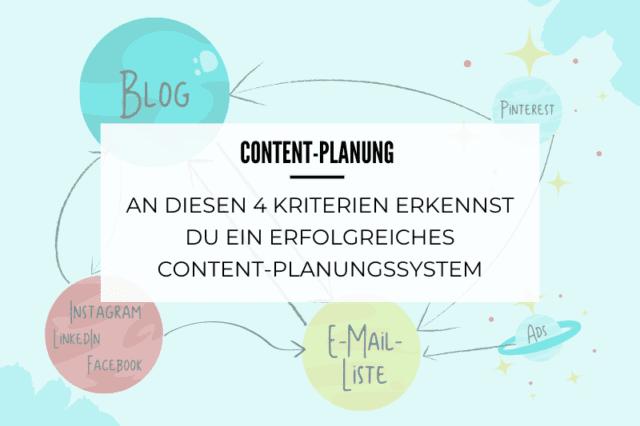An diesen 4 Kriterien erkennst du ein erfolgreiches Content-Planungssystem