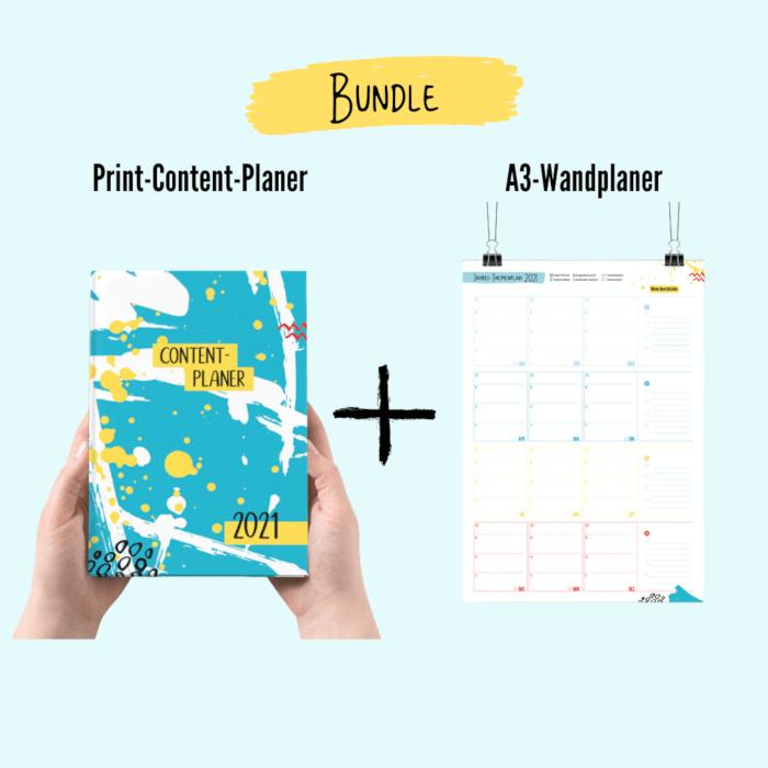 Bundle Print-Content-Planer + A3-Wandplaner
