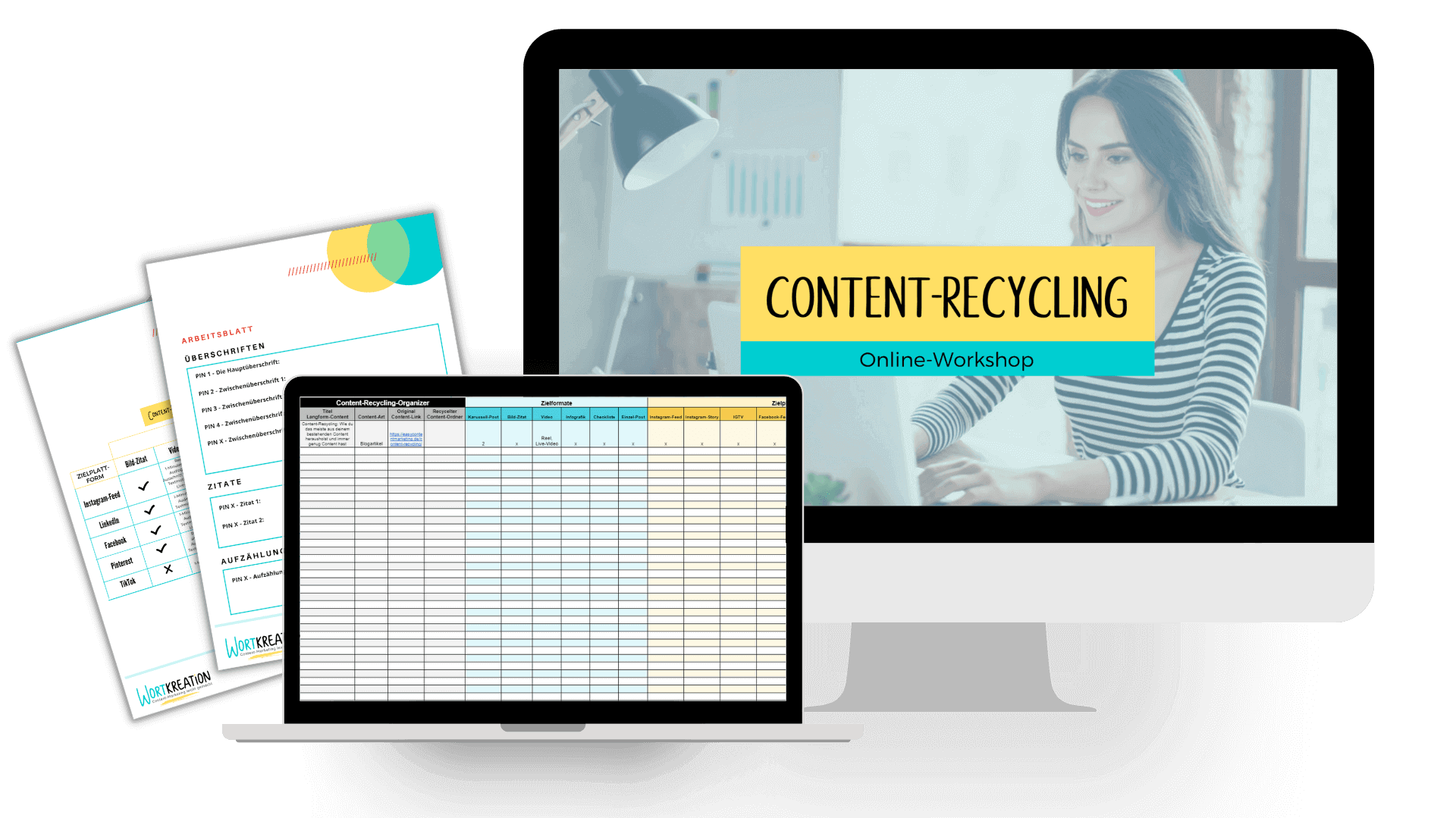 Content-Recycling-Workshop by Wortkreation