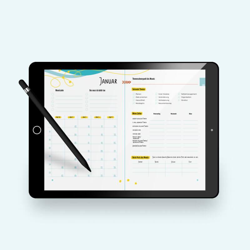 E-Book Content-Planer 2022
